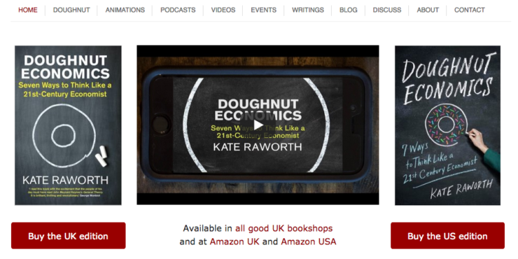Kate  Raworth: Empowering Doughnut Economy